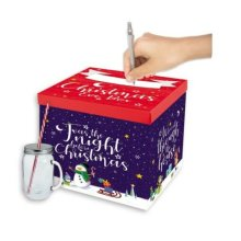 Night Before Christmas Eve Box 28cm Detachable Lid Childrens Present Gift GB601