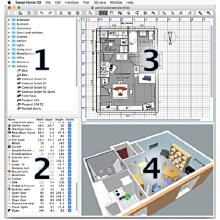 3D Home Design CAD Room planner PRO