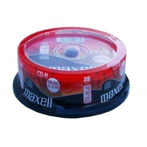 25Maxell CD-R Digital Audio Blank Discs XL-II Music