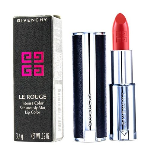 Le Rouge Intense Color Sensuously Mat Lipstick - # 324 Corail Backstage - 3.4g/0.12oz