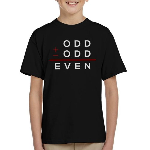 Odd Plus Odd Equels Even Kid's T-Shirt