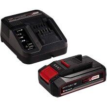 Einhell 2.5Ah Power X-Change Battery & Charger Starter Kit 18v - 4512097