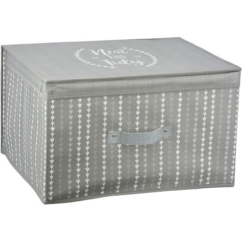 Jumbo Storage Box Grey