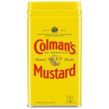 Colman's English Mustard Powder - 6x454g