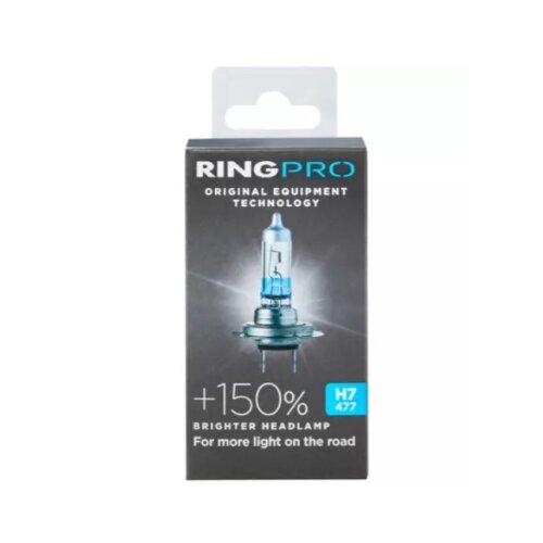 Ring Pro +150 H7 477 Car Headlight Bulb Single Pack