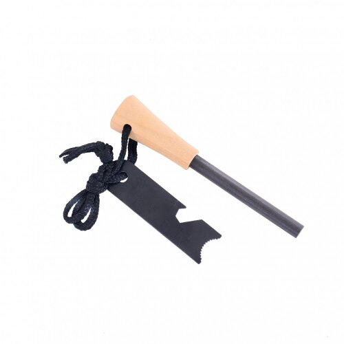 Oypla Essential Survival Magnesium Strip Camping Fire Starter + Bottle Opener Tool