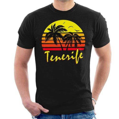 Tenerife Vintage Sun Men's T-Shirt