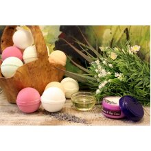 Bath Balls Essential Oils