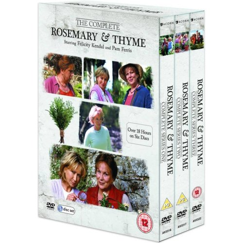 Rosemary And Thyme Series 1 to 3 Complete Collection DVD [2016]