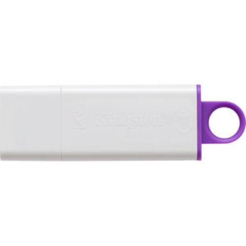 Kingston Datatraveler G4 64 Gb Usb 3.0 Flash Drive Violet White DTIG4/64GB