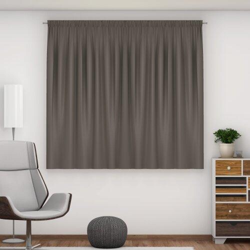 Tab Top / Pencil Pleat Blackout Curtains (140cm)