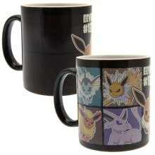 Pokemon Heat Changing Mug Eevee Official Licensed Product