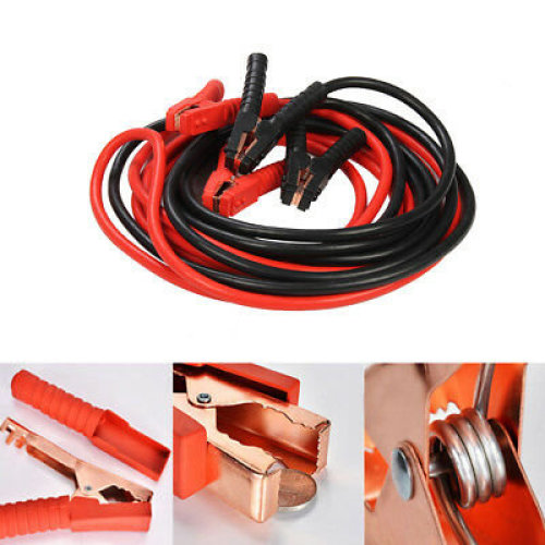 HEAVY DUTY EXTRA 6 METRE TRADE 3000AMP CAR VAN TRUCK LEADS BOOSTER