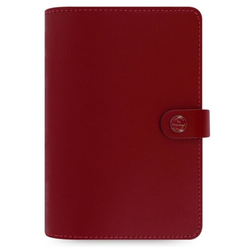 Filofax The Original Personal Organiser Pillarbox Red Leather + 12 Month Diary