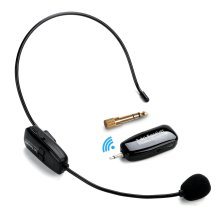 Wireless Microphone Headset, Jelly Comb 2.4G Wireless Mic Headset