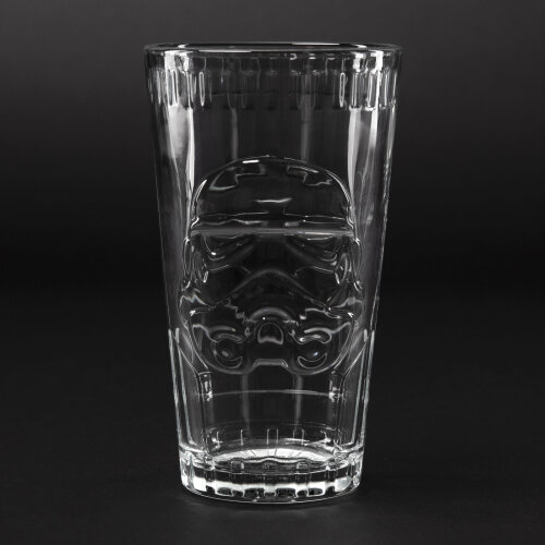 Stormtrooper Shaped Glass Star Wars Drinking Movies Collectable Novelty