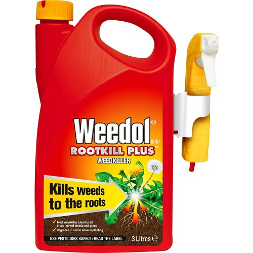 Weed Killer Strong Best Industrial Rootkill Pet Friendly Garden Patio Drives Use
