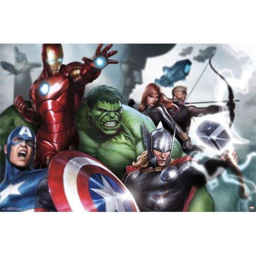 """Poster - Studio B - Avengers - Assymble 23""""x35"""" Wall Art p4384"""