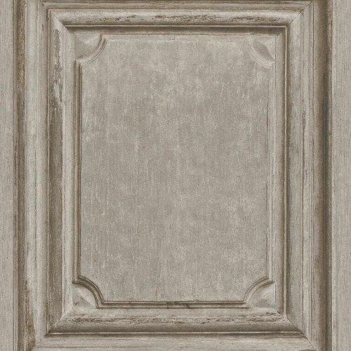Rasch Wooden Door Pattern Wallpaper Modern Faux Wood Effect Panel Textured Roll[NATURAL 524406]