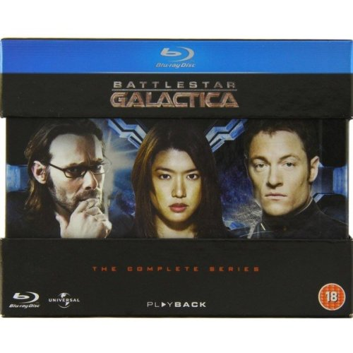 Battlestar Galactica - The Complete Series Blu-Ray [2009]