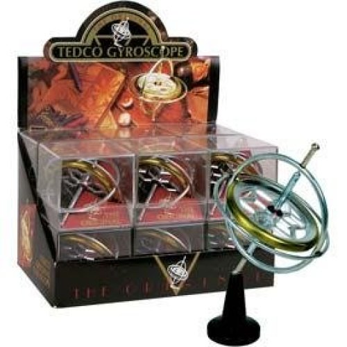 Gyroscope Toy With Pedestal In Display Box