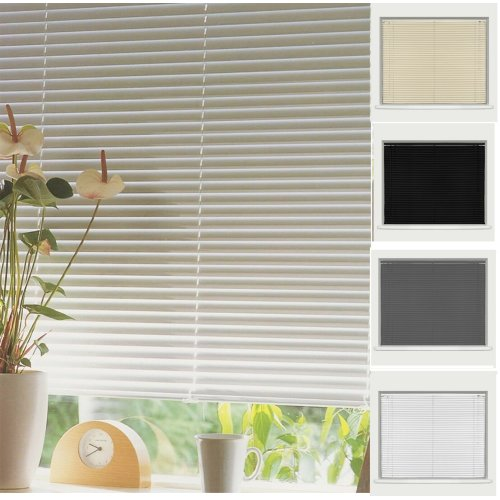PVC Venetian Window Blind Easy Fit Trim Able Blinds All Sizes