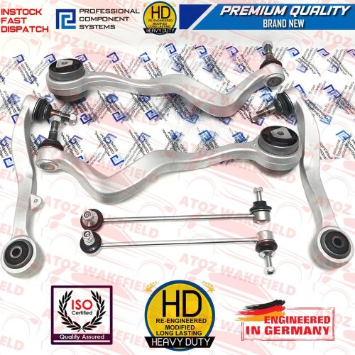 For BMW 520 525 Front suspension track control arms wishbones drop links bars