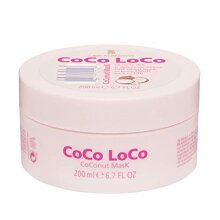 Lee Stafford Coco Loco Coconut Moisturising, Cleansing and Deep Conditioning Hair Care Mask -200ml | Coco Loco Lee Stafford, Hair Care, Hair Mask, Hai