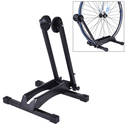 Bike Stand Adjustable Floor Folding Holder 16-29""