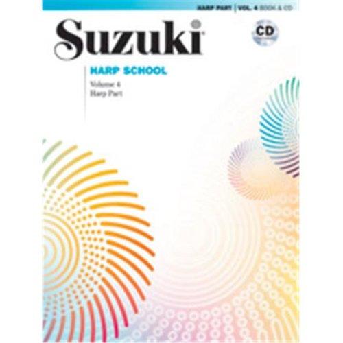 Alfred 00-40826 SUZUKI HARP SCHOOL 4-BK&CD