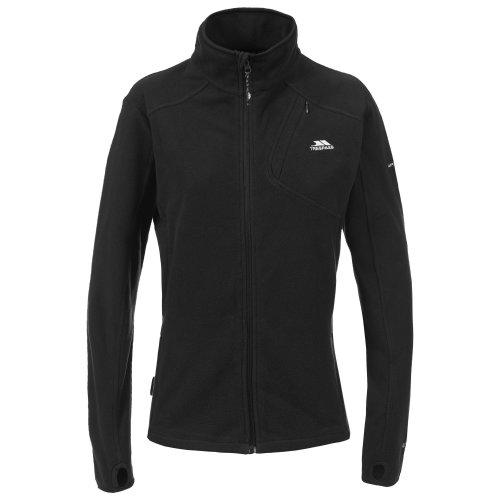 (XL, Black) Trespass Womens/Ladies Saskia Full Zip Fleece Jacket