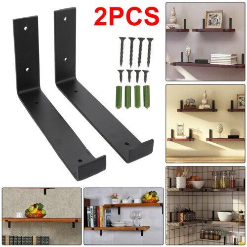Rustic Shelf Brackets Scaffold Board Bracket Industrial 210mm