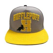 Harry Potter Hufflepuff Embroidered Logo Snapback Cap