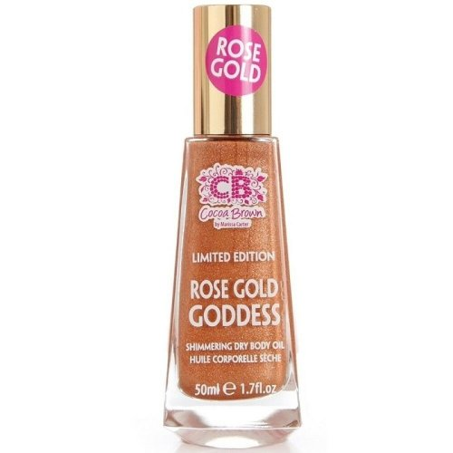 Cocoa Brown by Marissa Carter Rose Gold Goddess Oil 50ml