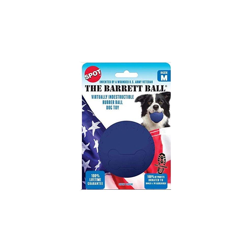 Ethical SPOT Barrett Ball Virtually Indestructible Rubber Ball | Medium Dog Toy