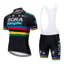 Bora Cycling Jersey Men's And Bib MTB Shorts Set