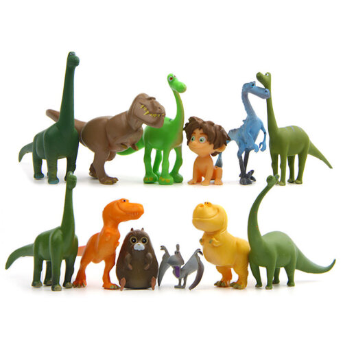 12pcs/lot The Good Dinosaur Arlo Figure Toy Model