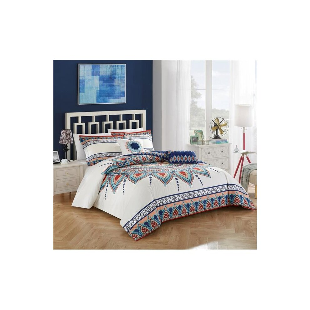 Chic Home Cs4375 Us Bethany King 5 Piece Comforter Set On Onbuy