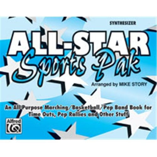 Alfred 00-MBF9523 All-Star Sports Pak - Music Book