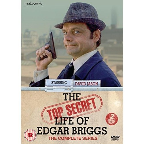 The Top Secret Life Of Edgar Briggs DVD [2015]