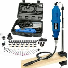 Rotary Tool Kit, 135W Multi Tool Kit with 80 Accessories  Storage Case