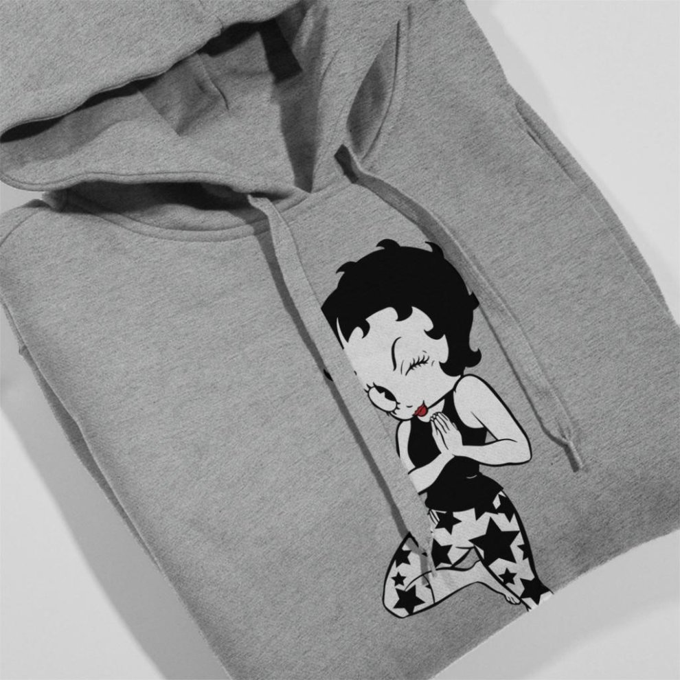 Comics Kingdom Betty Boop Power Pearls Mens Sweatshirt
