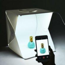 Photography Backdrop LED Light Tent Portable Photo Studio Lighting Box