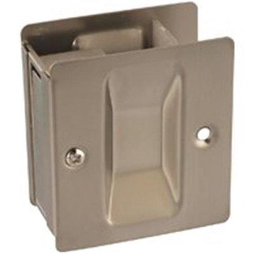 N326-306 Pocket Door Pull, Satin Nickel