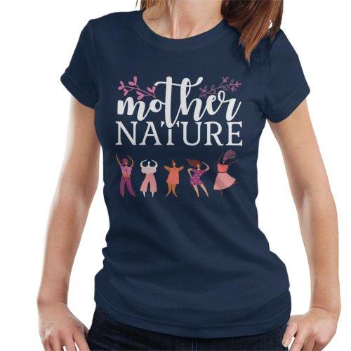 Girl Power Mother Nature Women's T-Shirt
