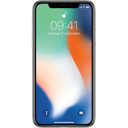 (Unlocked, 256GB) Apple iPhone X   Silver