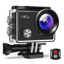 APEMAN Action Camera 4K 20MP WiFi Sports for Vlog Underwater Cam Waterproof 30M with Remote Control