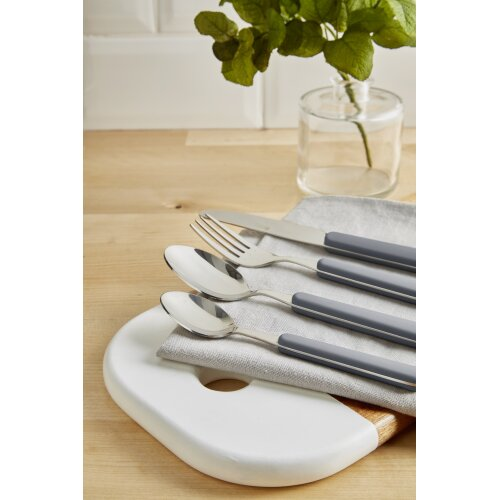Swan Nordic 16pce Cutlery Set Grey