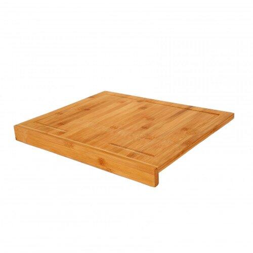 Oypla Counter Edge Bamboo Wooden Chopping Cutting Board Kitchen