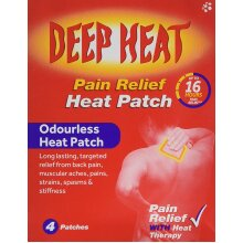 Deep Heat Pain Relief Heat Patch 4 Patches
